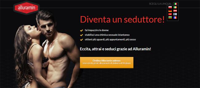 Alluramin Homepage