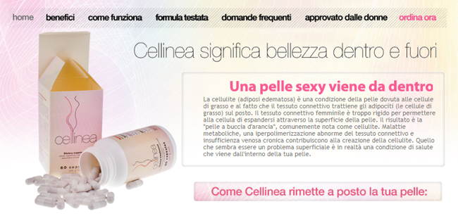 Cellinea Homepage