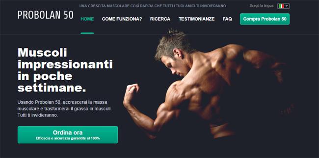 Probolan 50 Homepage
