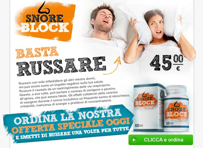 SnoreBlock Homepage
