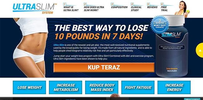 Ultra Slim Homepage