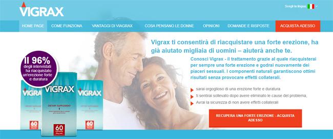 Vigrax Homepage