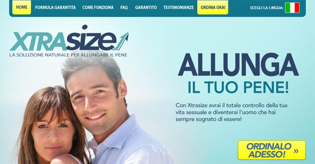 XtraSize Homepage