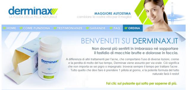 Derminax Homepage